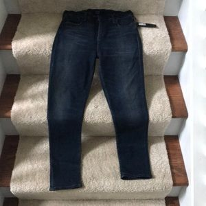 NWT Citizens of Humanity Rocket Crop skinny jeans